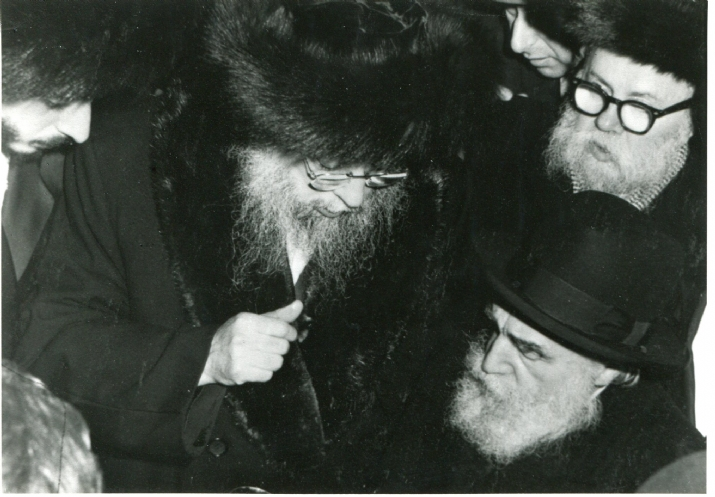 With Harav Moshe Feinstein