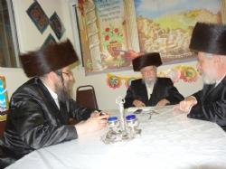 Rabbi Chaim Shia Babad, Rabbi Meshulem Zalman Glantz, Liska Rebbe, R' Chaim Shiya Babad