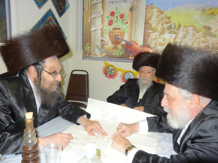 Rabbi Chaim Shia Babad, Rabbi Meshulem Zalman Glantz, Liska Rebbe, R' Meshulem Zalman Glantz,R' Chaim Shiya Babad, R' Meshulem Zalman Glantz, ezra friedlander