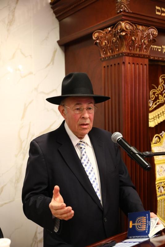 הרב שלמה זלמן סויבער, פרס הכרת הטוב (נואם), , , ezra friedlander