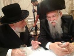 Liska Rebbe,  Harav Tzvi Pollack Rav of Agudas Shomrei Hadas - Grossverdan Rav, Grossverdan